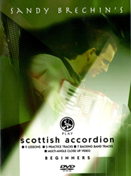 DVD - Sandy Brechin's Play Scottish Accordion - Beginners