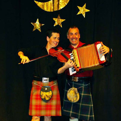 Sandy Brechin and Gregor Borland