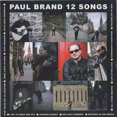 Paul Brand 12 Songs